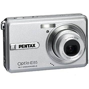 amazon com pentax digital camera optio e85 12100000 painting silver rh amazon com Pentax Optio S1 Pentax Optio Software