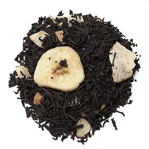 Aromas de Té - Té Negro Sonrisa Africana con Plátano Coco Trozos de Caramelo Dulce Bajo