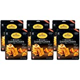 Sonoma Creamery Cheese Crisps - Bacon Cheddar, 6 Count Pack, Savory Real Cheese Snacks, High Protein, Low Carb, Gluten Free, Wheat Free (2.25 Ounces)