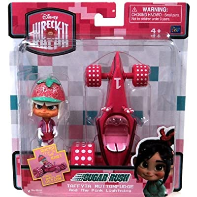 Wreck-it Ralph Taffyta Muttonfudge & Pink Lightning: Toys & Games