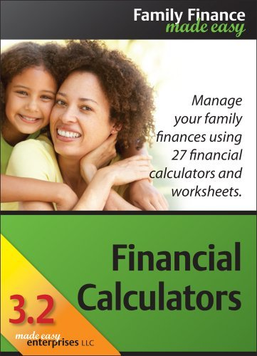 Financial Calculators 3.2 for Mac [Download] by Made Easy Enterprises LLC