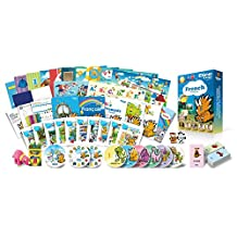 French for Kids Premium Set, French Language Learning Dvds, Cds, Books, Posters and Flashcards for Children