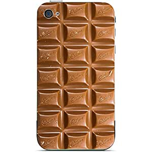 Unique Personalised Customised iPhone 5 5s Plastic Case Biscuit Choccy Chocolate Sweet