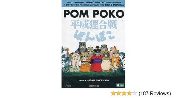 Amazon com: Pom Poko [Italian Edition]: animazione, isao takahata