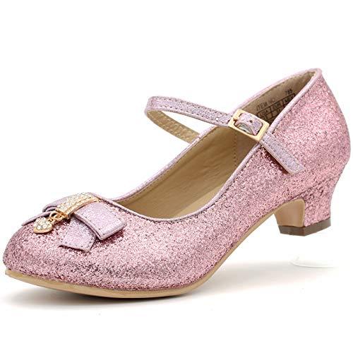 Dream Seek Girls Princess Dress Shoes Blush 3 -