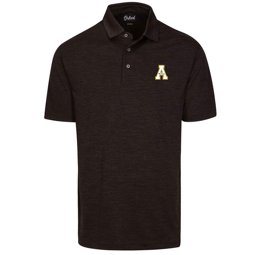 Black 3X-Large Oxford Mens Central Florida golden Knights Men's Snyder Short Sleeve Jersey Polo 521009CF-P