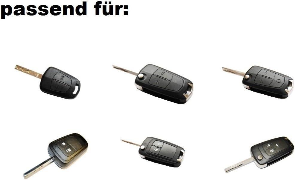 Neu 1x Batterie Schlüsselbatterie Schlüssel Fernbedienung Sender Opel Corsa D E Adam Karl Auto