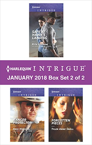 Harlequin Intrigue January 2018 - Box Set 2 of 2: Safe at Hawk's Landing\Ranger Protector\Forgotten Pieces (2 Piece Set Books)