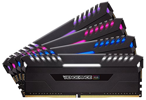 Corsair Vengeance 64 GB, DDR4, 3333 MHz módulo de - Memoria (DDR4, 3333 MHz, 64 GB, 4 x 16 GB, DDR4, 3333 MHz, 288-pin DIMM,...