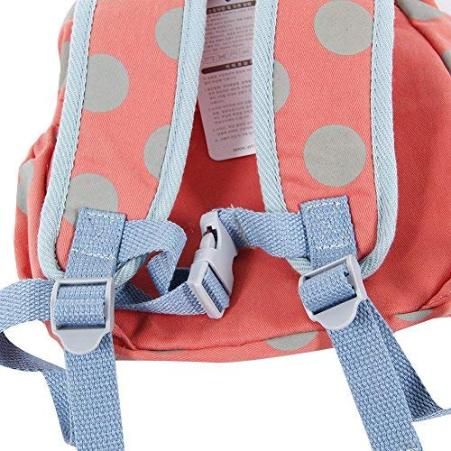 Amazon.com   Hessie Red Toddler Backpack, Cute Stuffed Rabbit Bag for Girls  over 1 Year Old, Child Backpack Zoo, Baby Girl Backpack Stuffed Animal ... 53d45c1889