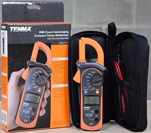 Tenma 72-7218 DIGITAL CLAMP AMP METER AC DC VOLTAGE AC CURRENT