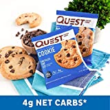 Quest Nutrition Chocolate Chip Protein Cookie, Keto