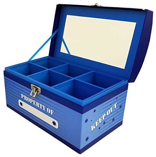 Treasure Chest Box Jumbo - Superhero Blue