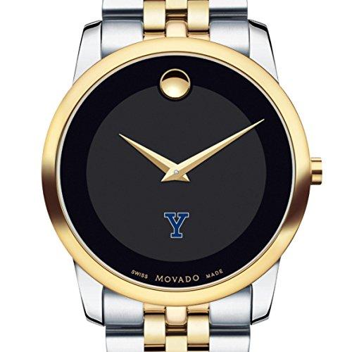 Yale-Mens-Movado-Two-Tone-Museum-Classic-Bracelet