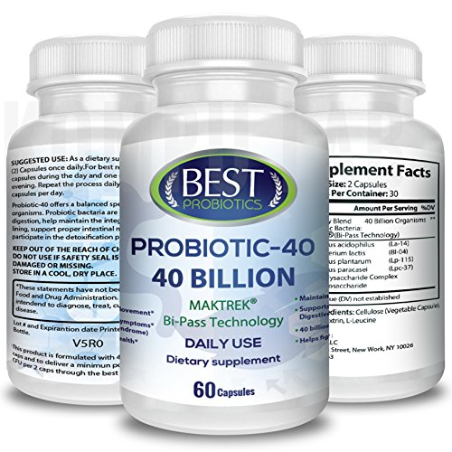 Acidophilus Probiotic | Best Probiotic With Unique Delivery Formula Survives Stomach Acid | Natural Digestive Defense Support to Feel Normal Gut Health | Easy to Swallow Gas, Blockage, Bloating Relief