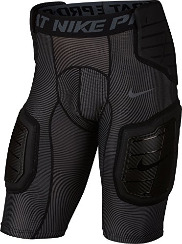 Nike Men's Pro Combat Hyperstrong Football Shorts-Black-XL (Pro Girdle)