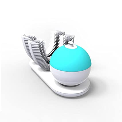 OWIKAR Cepillo de dientes automático, silicona de 360 grados, cepillado ultrasónico en 10 segundos