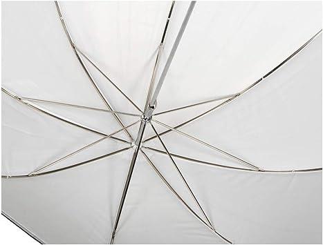 White Reflective//Translucent 85cm// 33in Elinchrom Shallow 2-in-1 Umbrella EL26358