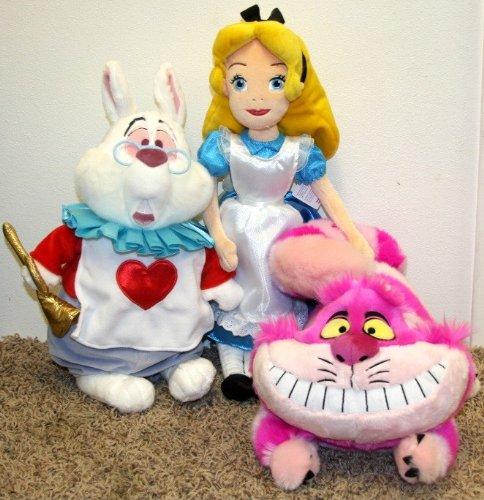 Amazon Com Hard To Find Disney Alice In Wonderland Plush Doll Set