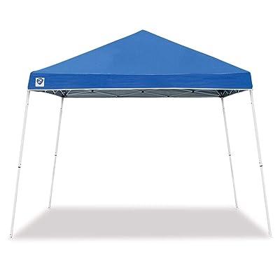 Z-Shade 10' x 10' Horizon Angled Leg Instant Shade Canopy Tent Shelter, Blue : Garden & Outdoor