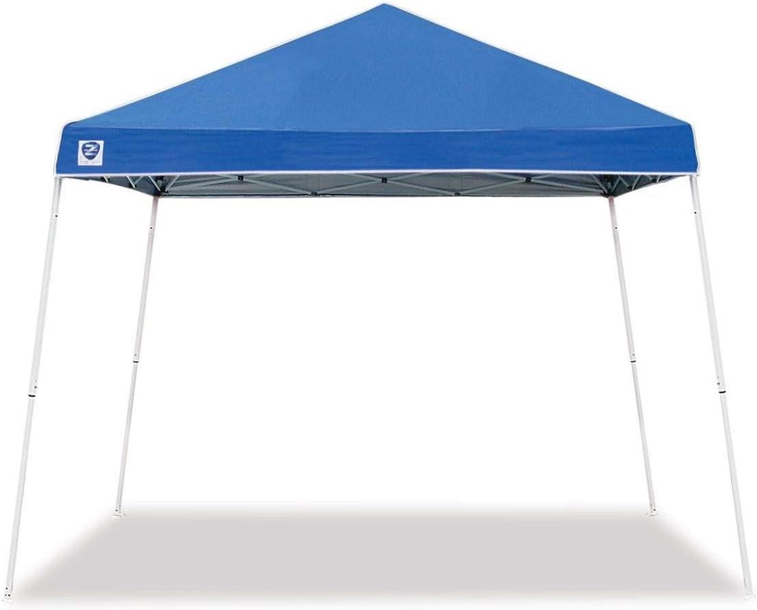 Z-Shade 10 x 10 Horizon Angled Leg Instant Shade Canopy Tent Shelter, Blue