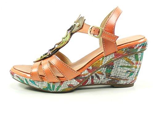 De Mujer Laura Vita Orange Fashion Sd301 David Sandalias Cuero 33 33 rx0qzxTBgw
