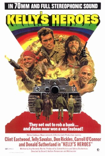 Kelly's Heroes 27x40 Movie Poster (1970)