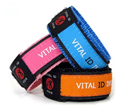 Vital ID Child Safety Wrist Band - Child