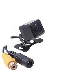 كاميرا عرض عالمية امامية للسيارة ومثبتة بقاعدة براغي على المصد وبصورة معكوسة وبخطوط شبكة