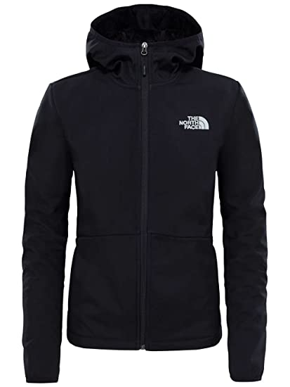 The North Face T933GO Chaqueta Highloft Soft Shell Tanken, Mujer, TNF Black, XS