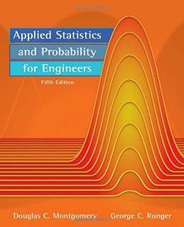 amazon com applied statistics and probability for engineers rh amazon com Statistics Probability Formulas solution manual applied statistics and probability for engineers
