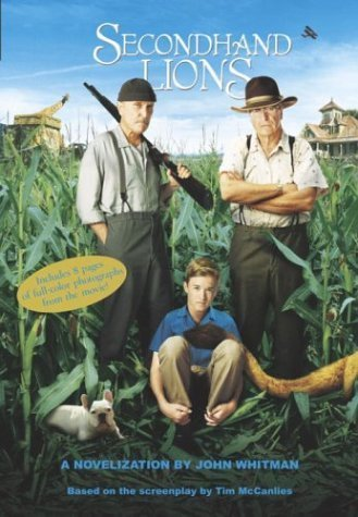 By John Whitman - Secondhand Lions (2003-09-10) [Paperback]