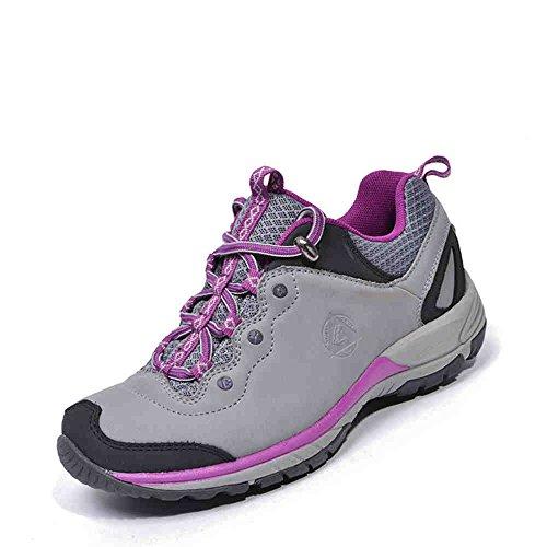de las gris Buque desierto púrpura mujeres libre impermeables 37 al en aire zapatos a4E4qrHw