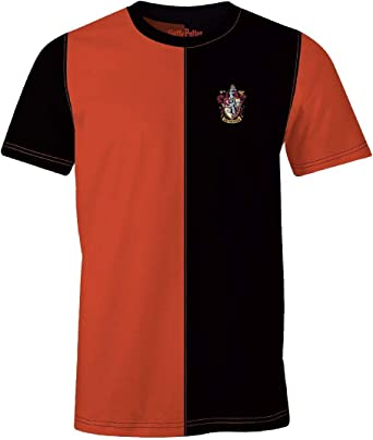 Camiseta para Hombre Harry Potter Gryffindor Tournament algodón Rojo Negro: Amazon.es: Ropa y accesorios