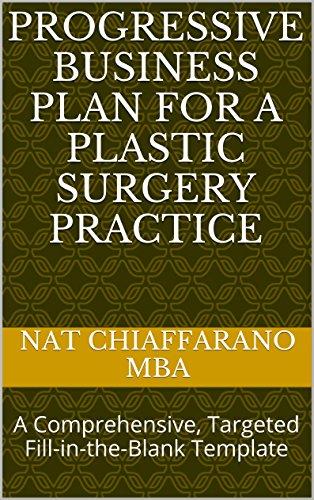 amazon com progressive business plan for a plastic surgery practice