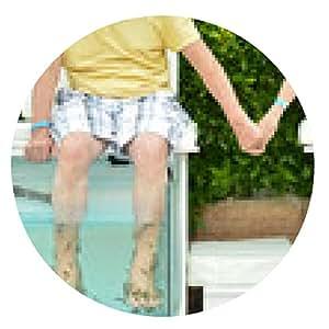 alfombrilla de ratón Pares en el tratamiento de la piel del balneario de los pescados - ronda - 20cm