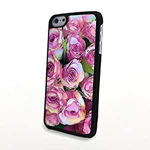 CaseLiveliy Charming Flowers Matte Pattern PC Phone Case fit for Cute Colorful iPhone 6 Plus Case