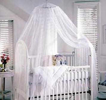 SDBING White Toddler Baby Nursery Halo BED NET Mosquito Net Crib TENT Canopy Netting & Amazon.com : SDBING White Toddler Baby Nursery Halo BED NET ...