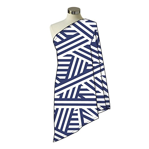Itzy Ritzy Infinity Happens Breastfeeding Scarf - City Chevron Stripe