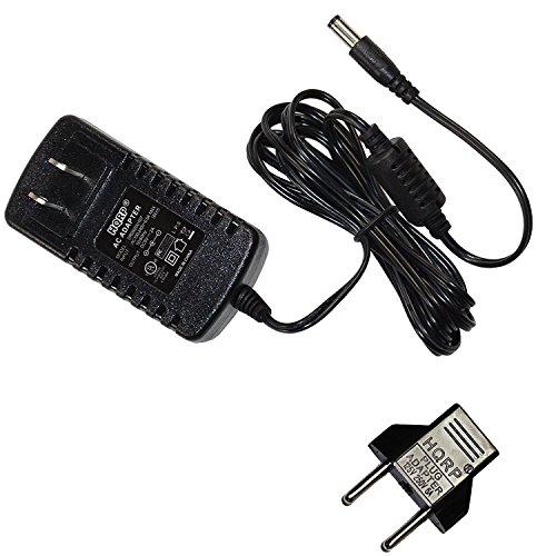 HQRP AC Adapter Power Supply for Boss GT-100 Amp Effects Processor ; Boss GT-10 Guitar Effects Processor ; Boss GT-10B Bass Effects Processor [UL Listed] + Euro Plug Adapter (Boss Gt 10 Guitar)