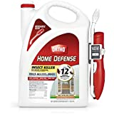 Ortho Home Defense Insect Killer for Indoor & Perimeter2 - with Comfort Wand, Long-Lasting Control, Kills Ants, Cockroaches, Spiders, Fleas & Ticks, Non-Staining, Odor Free, 1.1 gal.