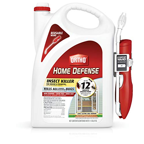 Ortho Home Defense Insect Killer for Indoor & Perimeter2, 1.1 Gal Comfort Wand (Best Stuff To Kill Fleas In House)