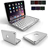 Best Cases With Bluetooth Metals - iPad Mini 4 Case and Keyboard,HuLorry 7 Colors Review
