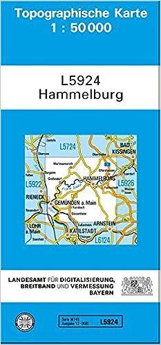 Hammelburg 1 50 000 9783899331394 Amazon Com Books