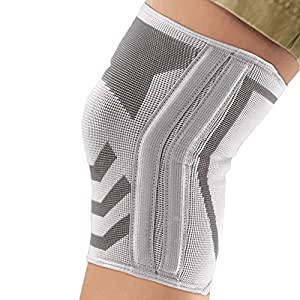 Amazon Com Ace Knitted Knee Brace With Side Stabilizers