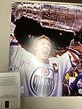 Wayne Gretzkly Signed Autographed Edmonton Oilers Stanley Cup 16x20 Photo WGA Gretzky Authentic COA & Hologram