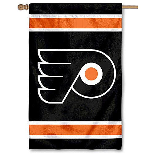 Philadelphia Flyers Official NHL 44 inch x 28 inch Banner Flag by Party (Weather Pennant Banner)
