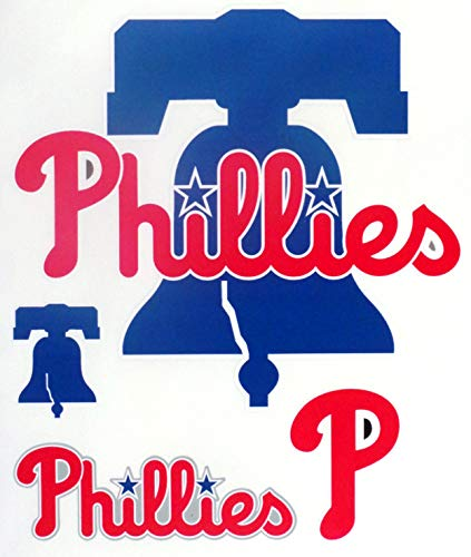 Philadelphia Phillies FATHEAD Team Logo Set Official MLB Vinyl Wall Graphics 7