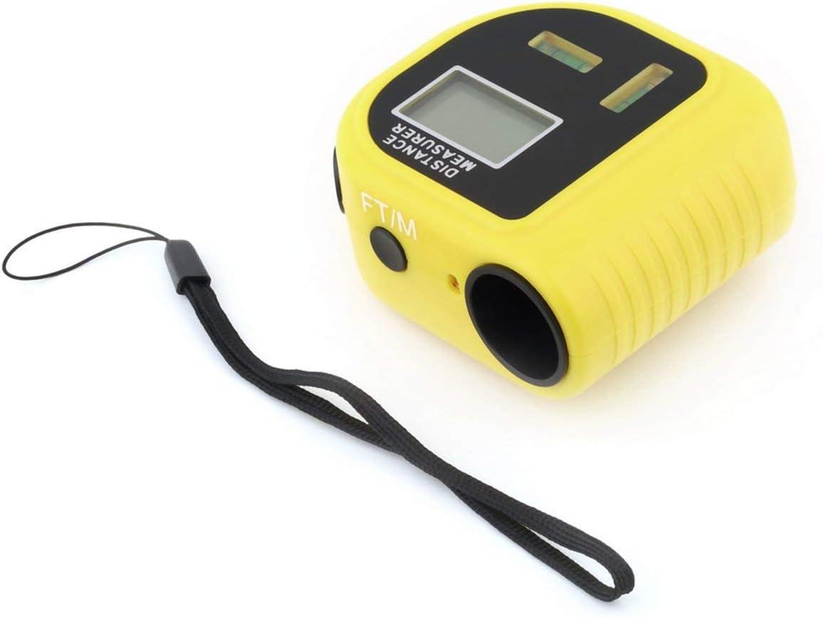 Losenlli 1Pc Cp-3010 Handheld Lasee Telémetros Medidor de distancia por ultrasonido Medidor Buscador de rango Medidores de pies