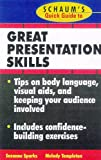 img - for Schaum's Quick Guide to Great Presentations book / textbook / text book